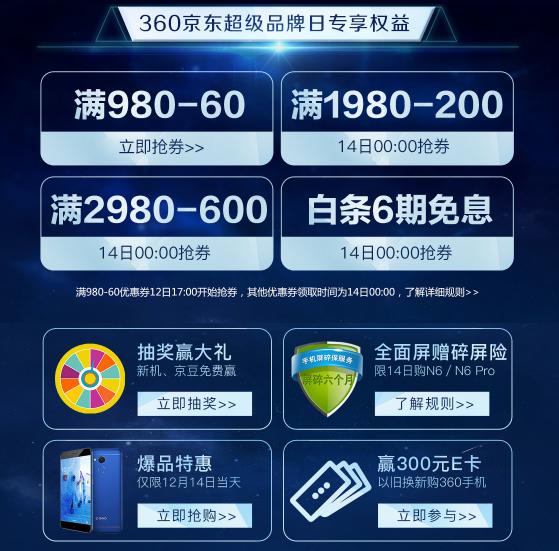 最高立减600元 360手机京东超品日购机攻略