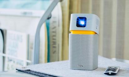 明基便携智能投影机GV1灵巧上市 给你多彩有氧生活